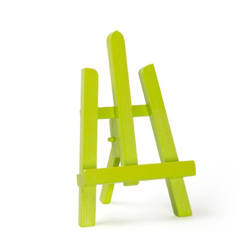 "Lime Colour Easel Essex 11"" - Beech Wood"